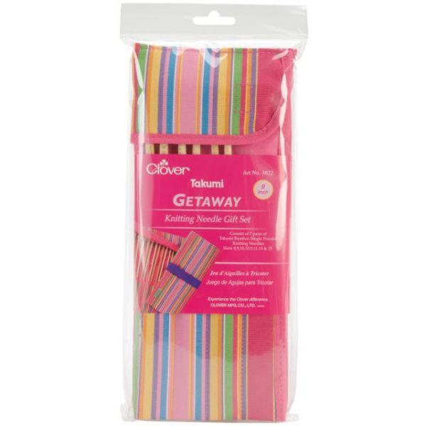 Getaway Takumi Single Point Knitting Needle Gift Set