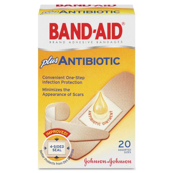 Band-Aid Antibiotic Bandages