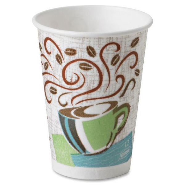 Dixie PerfecTouch 12 oz Paper Coffee Cups