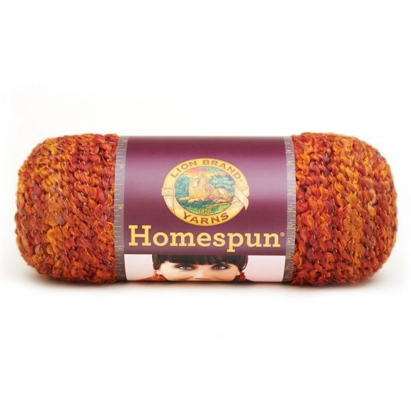 Lion Brand Homespun Yarn - Wild Fire
