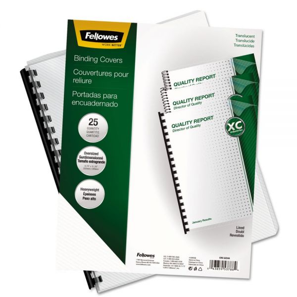 Fellowes Futura Oversized Presentation Binding Covers