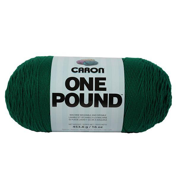 Caron One Pound Yarn - Kelly Green