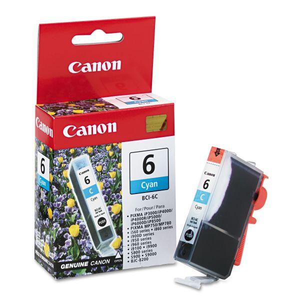 Canon BCI-6C Cyan Ink Cartridge (4706A003)
