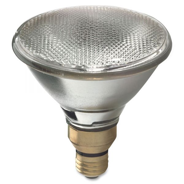 GE Energy-Efficient Halogen Bulb, 90 Watts, Crisp White