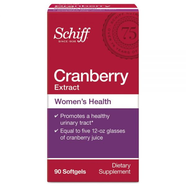 Schiff Cranberry Extract Softgels