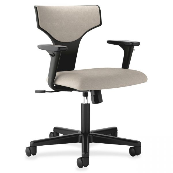 basyx by HON HVL258 T-shaped Back Task Chair with Arms