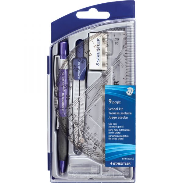 Staedtler 9-piece Math Set