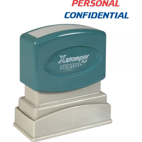 Xstamper PERSONAL CONFIDENTIAL Stamp