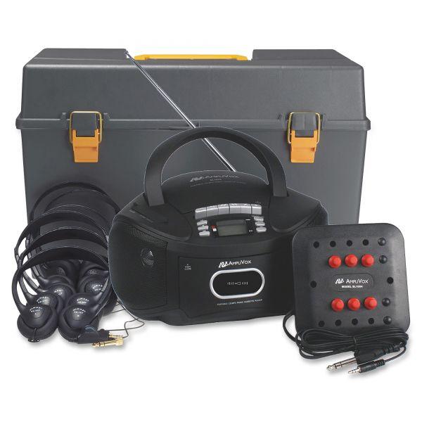 AmpliVox Personal Six-Station Listening Center