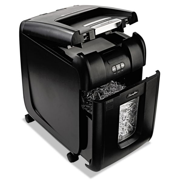 Swingline Stack-and-Shred 200 XL Super Cross-Cut Shredder Bundle
