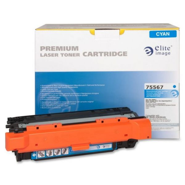 Elite Image Remanufactured HP CE251A Toner Cartridge