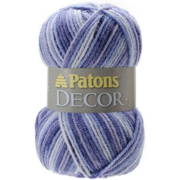 Patons Decor Yarn - Rich Blues