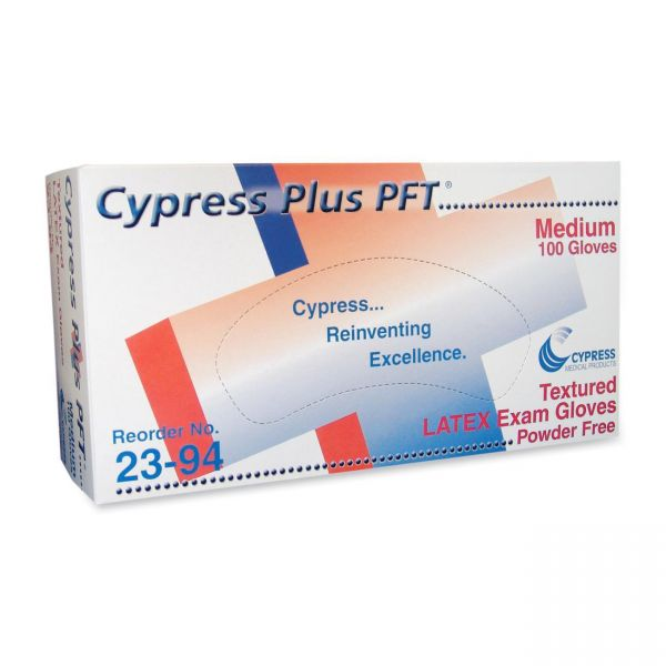 Cypress Plus Latex Exam Gloves