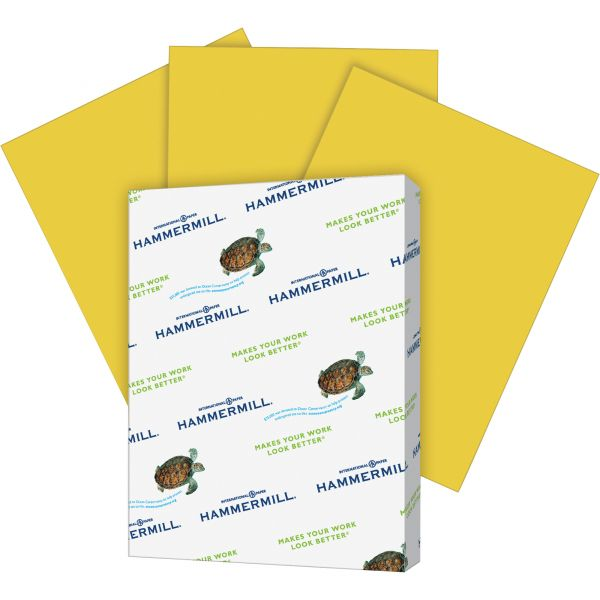 Hammermill Super-Premium Colored Paper - Goldenrod