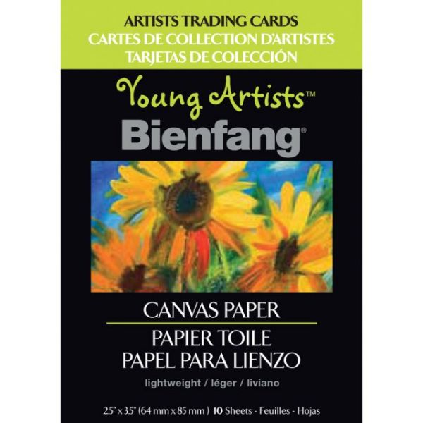 "Young Artists Trading Cards 2.5""X3.5"" 10/Pkg"