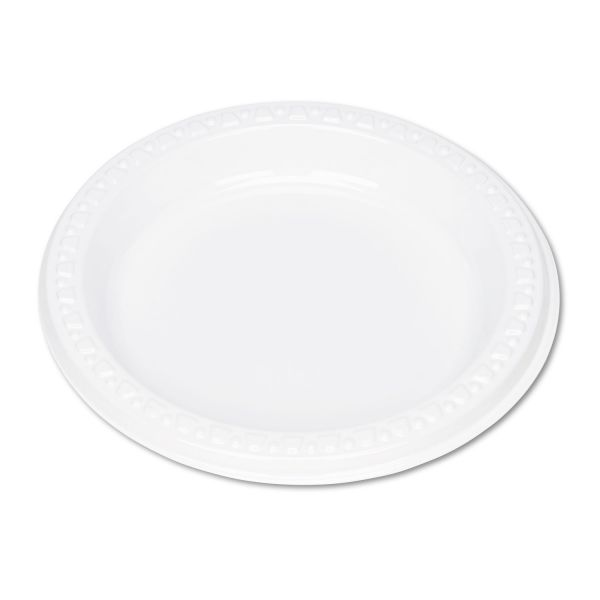"""Tablemate Reusable/Disposable 6"""" Plastic Plates"""