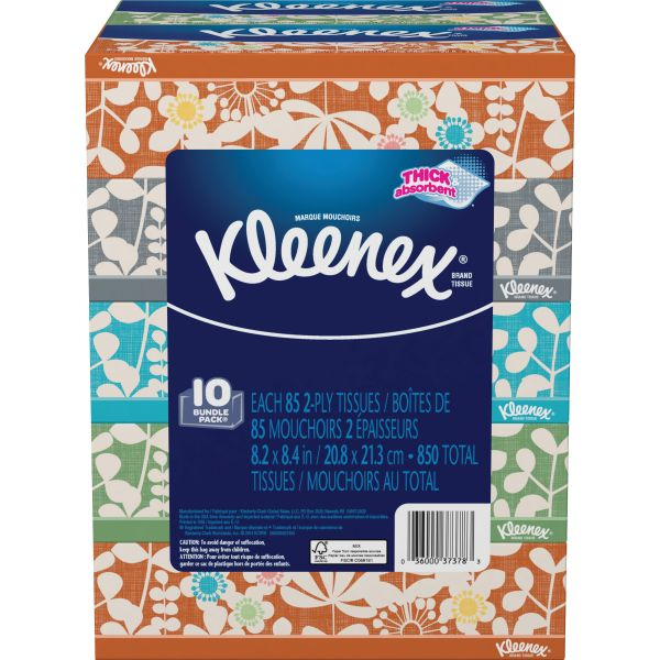 Kleenex Everyday 2-Ply Facial Tissues