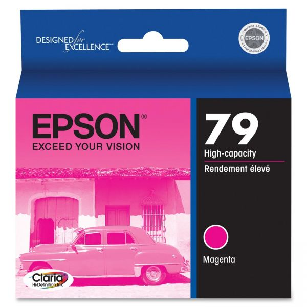 Epson 79 Magenta High-Capacity Ink Cartridge