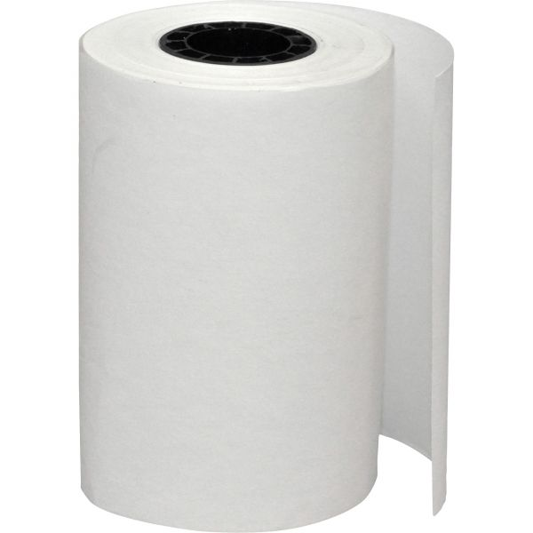 "PM Company Single Ply Thermal Cash Register/POS Rolls, 2 1/4"" x 55 ft., White, 5 Rolls/Pack"