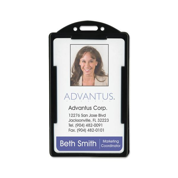 Advantus Vertical ID Card Holders
