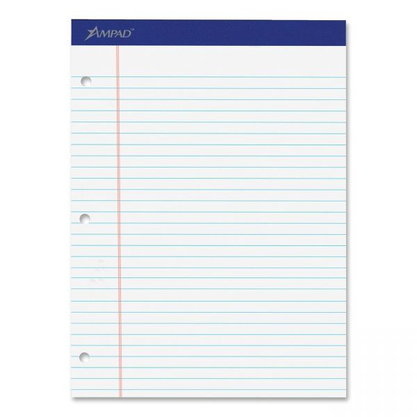 Ampad Double Sheet Letter-Size Legal Pads