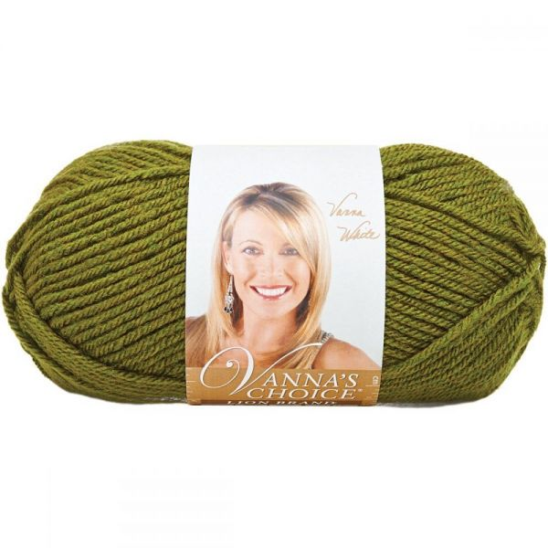 Lion Brand Vanna's Choice Yarn - Olive