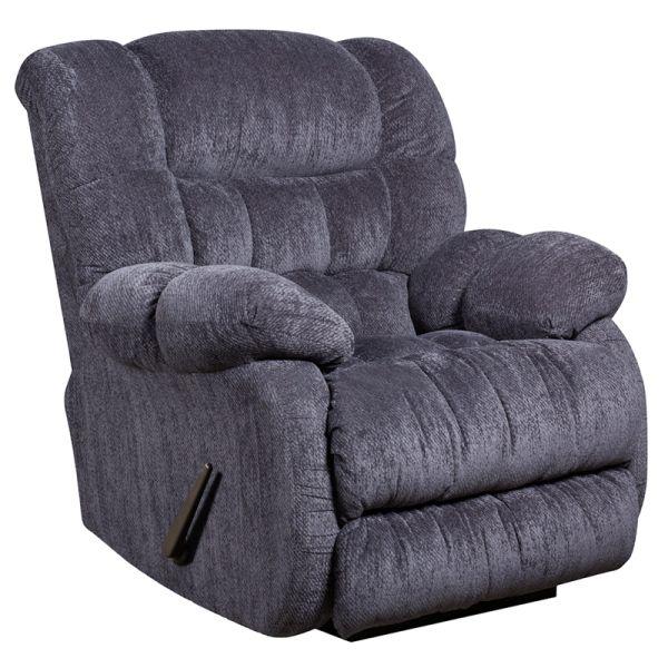 Flash Furniture Contemporary Columbia Indigo Blue Microfiber Rocker Recliner