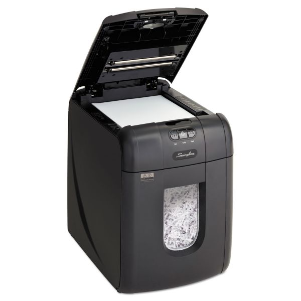 Swingline Stack and Shred 100X Automatic Cross Cut Shredder