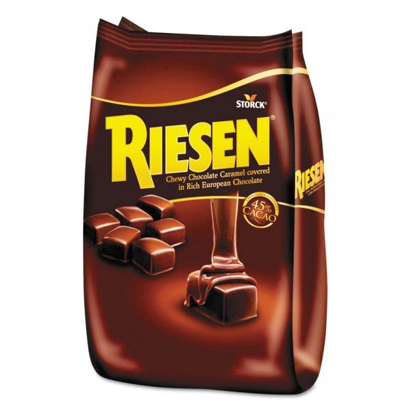 Riesen Chocolate Caramel Candies, 30oz Bag