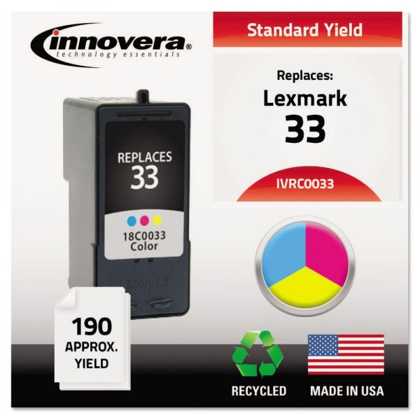 Innovera Remanufactured Lexmark 33 Ink Cartridge