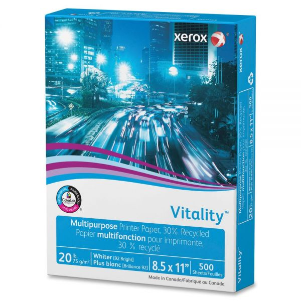 Xerox Vitality Recycled Multipurpose Printer Paper