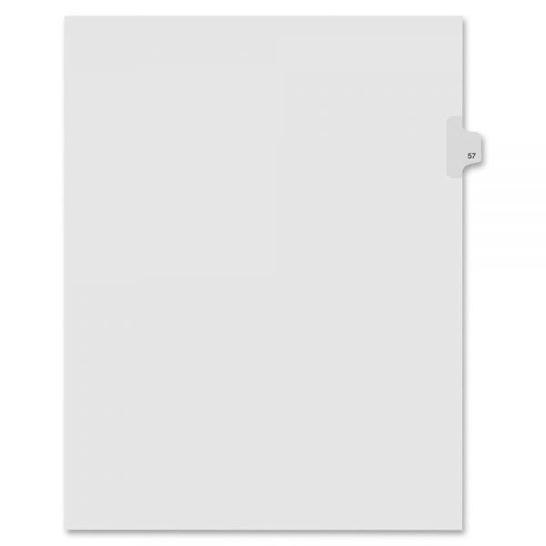 Kleer-Fax 90000 Series Side-Tab Legal Index Dividers