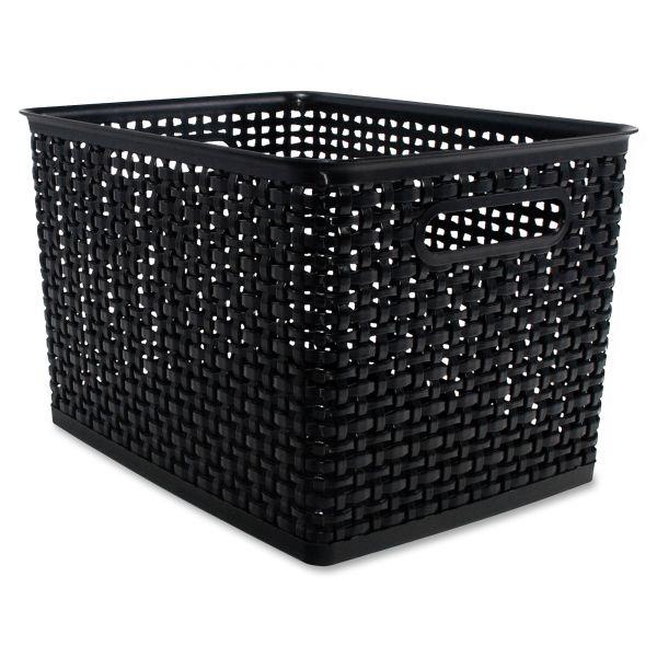 Advantus Weave Storage Bins