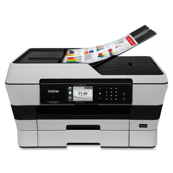 Brother Business Smart MFCJ6925DW Inkjet Multifunction Printer - Color - Plain Paper Print - Desktop