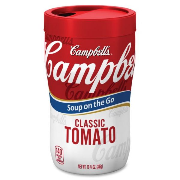 Campbell's Microwaveable Soup On The Go