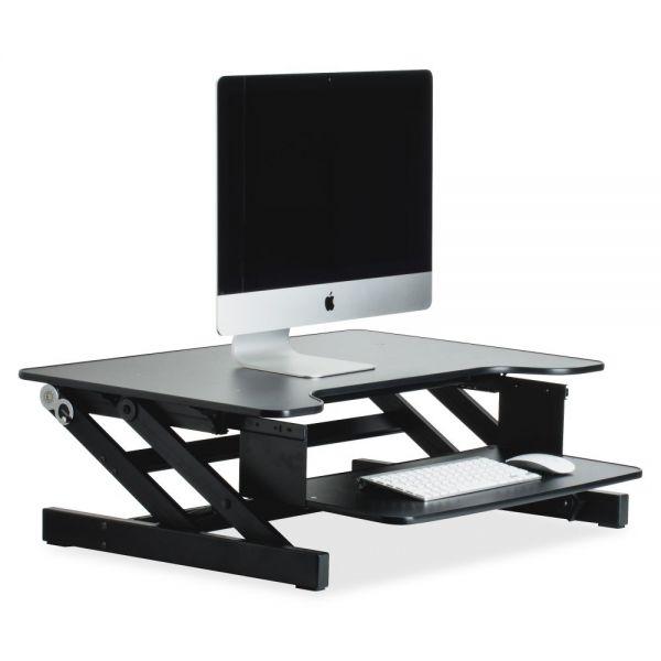 Lorell Desktop Sit-Stand Workstation