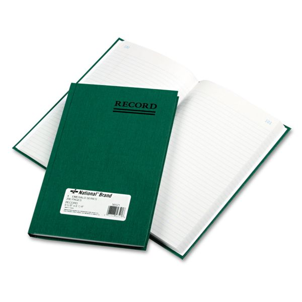 Rediform Green Cover Record Account Book