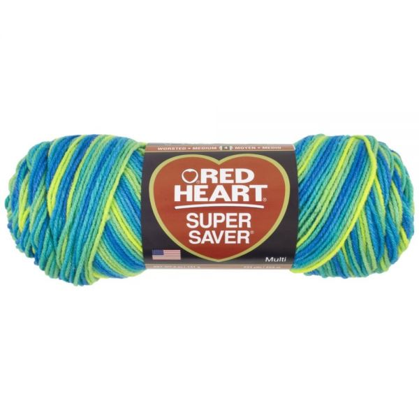 Red Heart Super Saver Yarn - Banana Berry