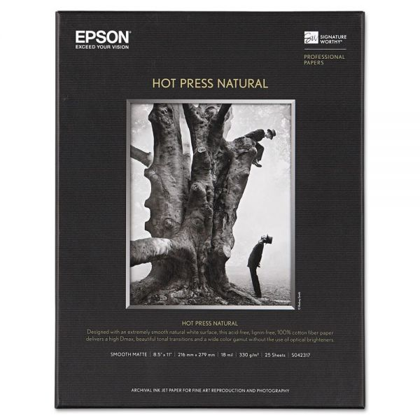 Epson Hot Press Natural Fine Art Paper