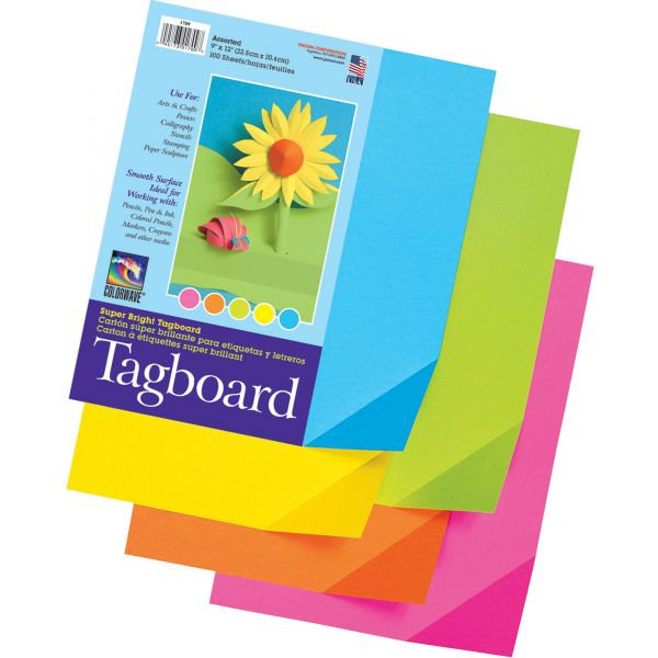 Pacon Super Bright Tagboard