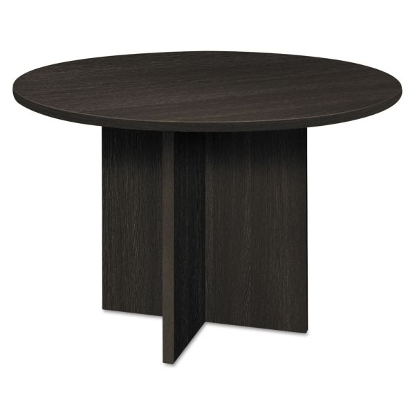 "HON basyx by HON BL Series Conference Table | Round | 48"" Diameter 