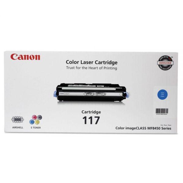 Canon 117 Cyan Toner Cartridge