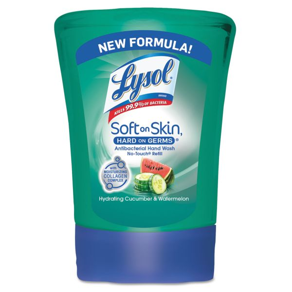 LYSOL No-Touch Antibacterial Hand Soap Refills
