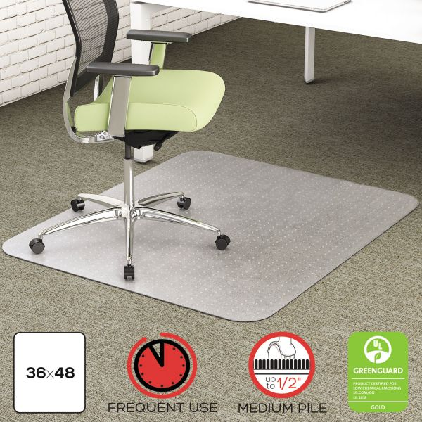 Deflect-o Environmat Low Pile Studded Chair Mat