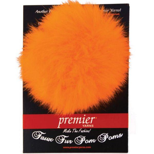 Faux Fur Pom Pom 1/Pkg