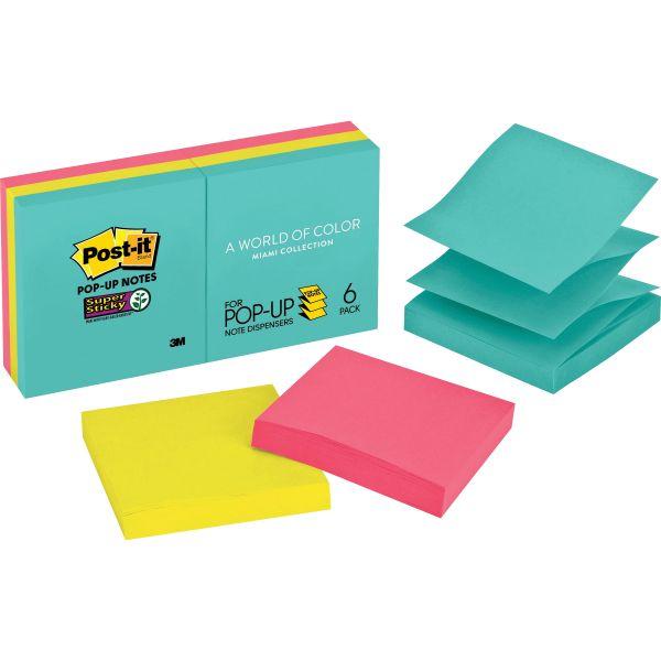 Post-it Super Sticky Pop-Up Notes