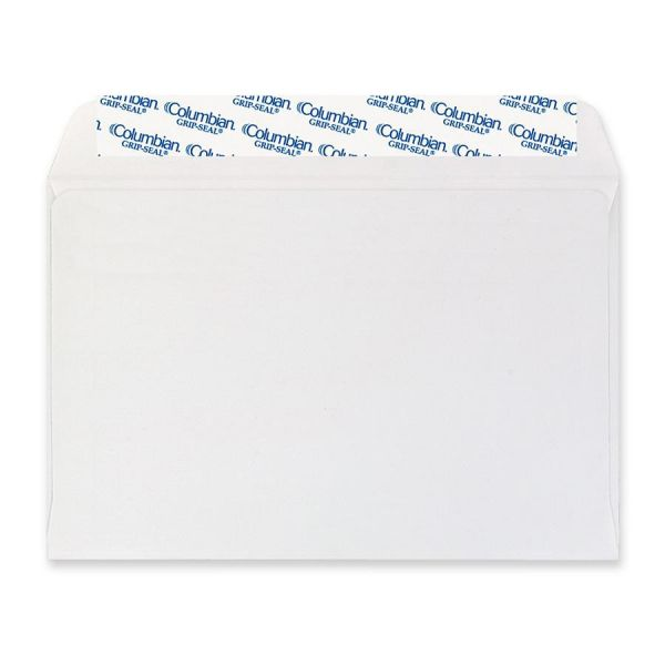 "MeadWestvaco Grip-Seal 6"" x 9"" Booklet Envelopes"