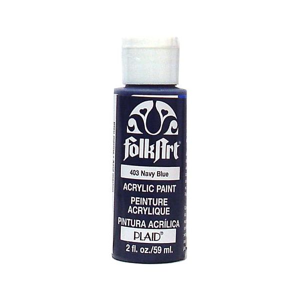 Folk Art Navy Blue Acrylic Paint