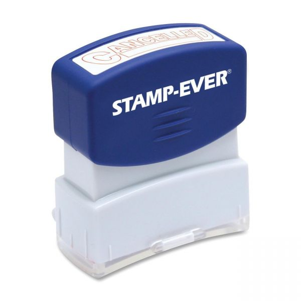 U.S. Stamp & Sign Pre-inked Cancelled Stamp