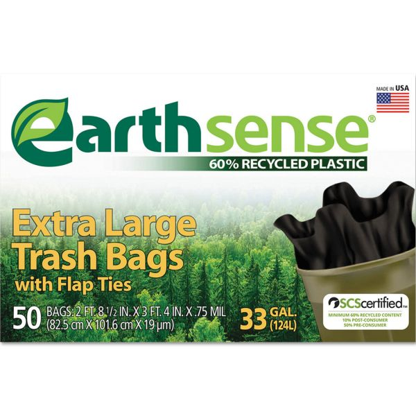EarthSense 33 Gallon Trash Bags